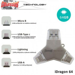 Colossus Multi USB i dragon 4u1 u016a 64GB ( 8606012416123 )