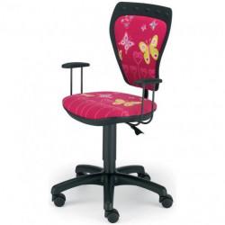 Dečija daktilo stolica Ministyle NS ministyle TS22 GTP28-BL butterfly