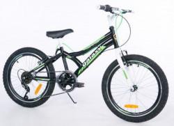 "Dečiji Bicikl Casper 200 20""/6 crna/zelena ( 650099 )"