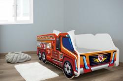 Dečiji krevet 140x70 truck FIRETRUCK ( 7526 )