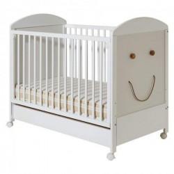 Dečiji krevetac - Smile beli sa fiokom ( 032 )