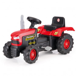 Dolu Traktor na pedale crno-crveni ( 080509 )