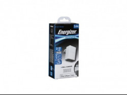 Energizer Ultimate Wall Charger 2USB+Lightning Cable White 3, 4A ( ACA2CEUULI3 )