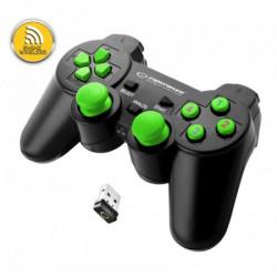 Esperanza EGG108G bežični gamepad 2.4ghz ps3/pc usb gladiator zeleni