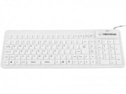 Esperanza EK126W tastatura silikonska za tablet i kompjuter bela