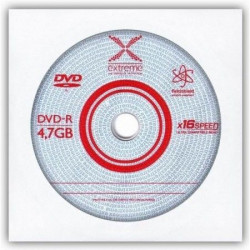 Extreme 1169 DVD-R 4,7GB X16 envelope