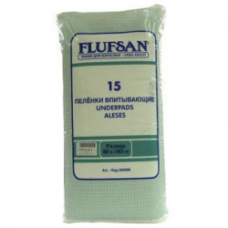 Flufsan nepromočiva navlaka za krevet 80 x 180 cm 15 komada ( 0310008 )