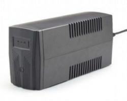 Gembird 850VA 510W AVR UPS, 2 x shuko output sockets, black EG-UPS-B850