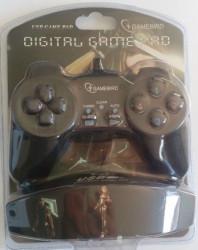 Gembird USB 2.0 digital gamepad black ( JPD-UB-01, 231)