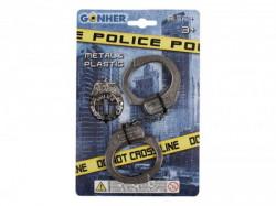 Gonher igračka za decu policijske lisice ( GN32401 )