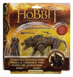 Hobbit Ork na Vargu 10 cm - Igračka