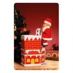 """Home Ukras """"Deda Mraz ulazi u dimnjak"""" ( KDK30 )"""
