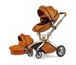 Hot Mom kolica brown 2u1 (sportsko sediste+korpa) ( F22BROWN )