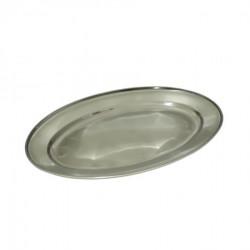 Inox ovalni poslužavnik, 35 cm ( 92-740000 )