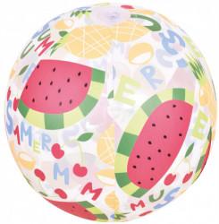 JiLong Multicolor lopta na naduvavanje 50cm - Voće ( 26-102100 )