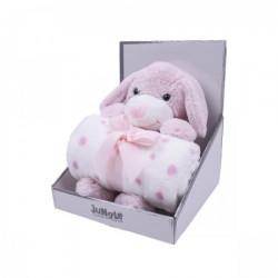 Jungle igračka sa ćebetom Kuca roze 25cm,90x75cm ( 31000245 )