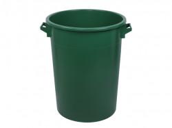 Kaca okrugla 100l - Zelena