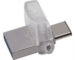 Kingston 64GB DataTraveler MicroDuo 3C USB 3.1 flash ( DTDUO3C/64GB ) srebrni