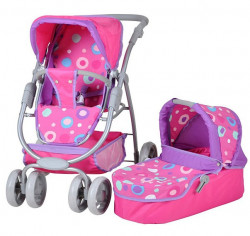 Knorr Toys Coco Kolica za lutke - Pink ( 90715 )