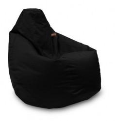 Lazy Bag - fotelje - prečnik 90 cm - Crna