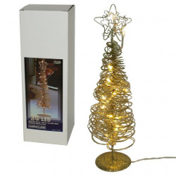 LED Bož. drvce met., 20L bele, ( 52-575000 )