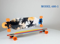 Longboard Skejt nosivost do 100kg - Model 680-1