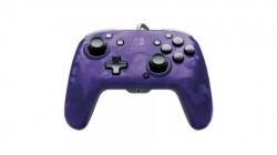Nintendo Switch Faceoff Deluxe Controller + Audio Camo Purple ( 035809 )