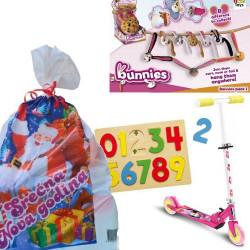Novogodišnji paketić M za devojčice 3-6 godina - 3 igračke ( 012NG947 )
