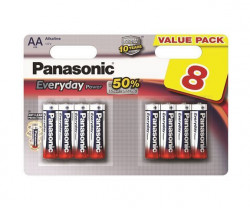 Panasonic LR6EPS/8BW AA 8 kom Alkalne Everyday baterije
