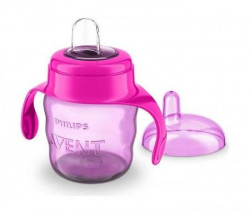 Philips Avent spout cup easy sip 7oz/200ml 6m+ pink ( SCF551/03 )