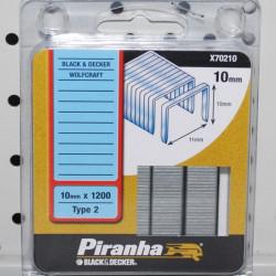 Piranha X70210 Klamerice BD 10mm x 1200