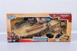 Piratski set pištolj, teleskop, mac A7 ( 11/74541 )