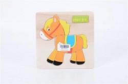 Puzzla 14x14x0,5cm Horse ( 792702 )