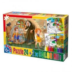 Puzzle 24 + COLOR ME FAIRY TALES 06 ( 07/50380-07 )