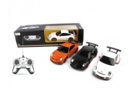 Rastar RC auto Porsche GT3 1:24 - crn, bel ( A013552 )