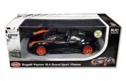 Rastar RC automobil Bugatti Veyron 1:14 - crn, nar ( 6211202 )