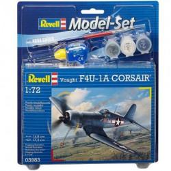 Revell maketa model set vought f4u-1d corsair ( RV63983/5006 )