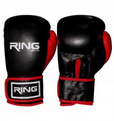 Ring rukavice za boks 10 OZ kozne - RS 3211-10 red