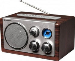 Roadstar RSHRA1345NUSWD radio sa drvenim kućištem