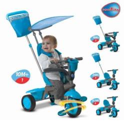 Smart Spirit tricikl za decu - plavi ( 11/6753900 )
