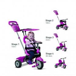 Smart Trike Tricikli Vanilla - pink ( 6652200 )