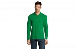 SOL'S winter II muška polo majica sa dugim rukavima kelly green L ( 311.353.43.L )