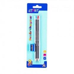 Start olovke grafitne space 2kom i zarezaČ na blisteru start ( STR6073 )