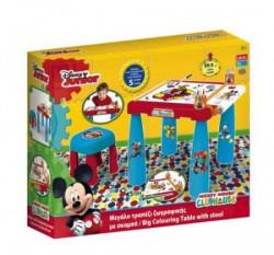 Sto i stolica za bojenje Mickey Mouse ( 04/8417 )