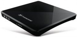 Transcend DVD\261R External Ultra Slim 8X Dual Layer Retail USB powered Black ( TS8XDVDS-K )