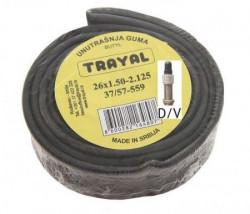 Trayal unutrašnja guma 16x1.50-2.125 DV ( 520003 )