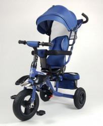 Tricikl Guralica Happybike Big model 419 sa mekanim rotirajućim sedištem - Plava