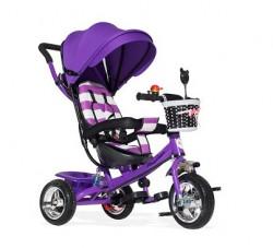 Tricikl Guralica Playtime AM 406 - Ljubicasti + Mekano sedište