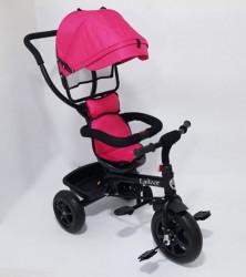 Tricikl za decu Model 01 sa rotirajućim sedištem - Pink