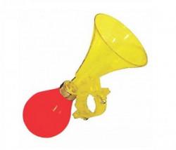 Truba dečija PVC prozirna žuta-crvena guma ( 260015 )